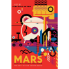 """Missions like Mars Pathfinder, Mars Exploration Rovers, Mars Science Laboratory and Mars Reconnaissance Orbiter, among many others, have provided important information in understanding of the habitability of Mars. This poster imagines a future day when we have achieved our vision of human exploration of Mars and takes a nostalgic look back at the great imagined milestones of Mars exploration that will someday be celebrated as """"historic sites."""""""