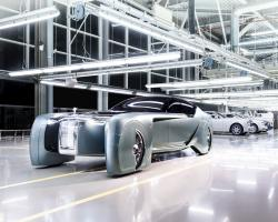 Concept art of the Rolls-Royce VISION NEXT 100