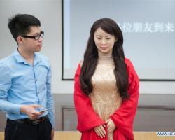 Humanoid robot named Jia Jia