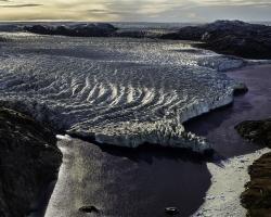 Inland Icecap Kangerlussuaq in Greenland
