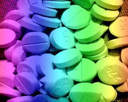 Rainbow pills
