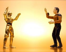 Star Wars' C-3P0 versus Star Trek's Data