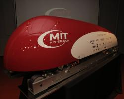 MIT's fully built Hyperloop pod for the SpaceX competition