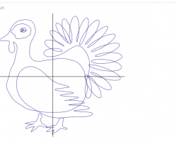 How to graph a turkey (Wolfram Alpha)