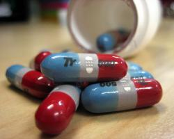 Tylenol red and blue 500 mg capsules