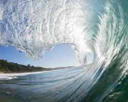 Barrel of a wave