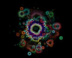 Abstract design of the big bang
