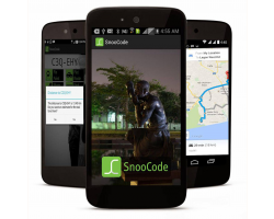 SnooCode app on a smartphone