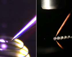 Laser-assisted 3D printing