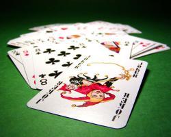 Playing cards, joker