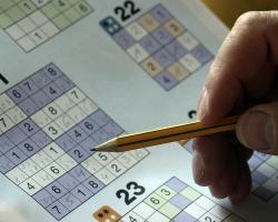 Sudoku puzzle, brain teaser, brain exercise