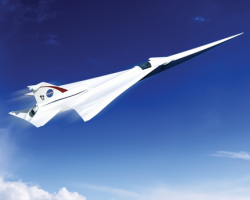 NASA's supersonic jet design
