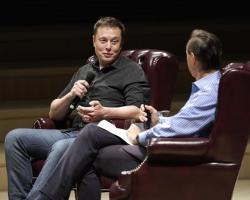 Elon Musk in an interview at Stanford FutureFest