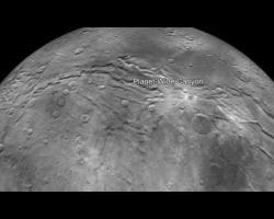 Flying Over Charon