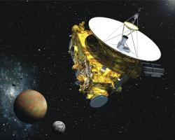 Artist's concept of New Horizons from Launch Press Kit