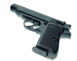 small black hand gun