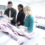 Students learn in a cadaver lab