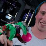 Student 3-D prints functional, affordable prosthetic